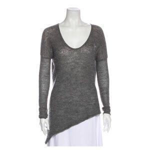 Helmut Lang Alpaca Pullover Sweater